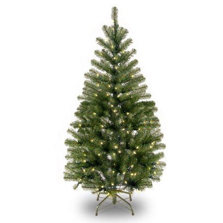 4 ft. Aspen Spruce Tree with Clear Lights ()
