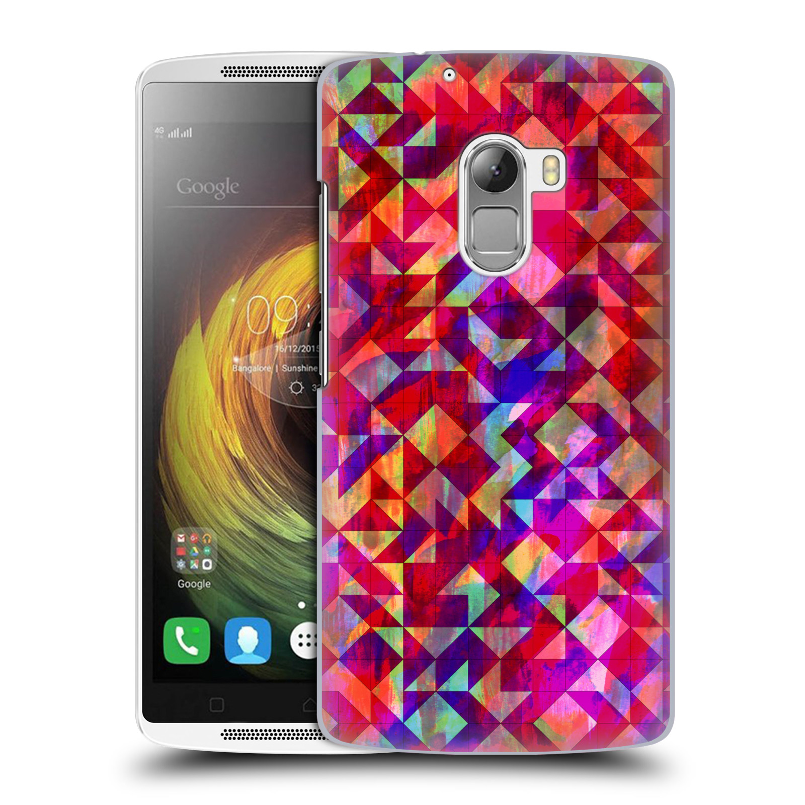 OFFICIAL AMY SIA GEOMETRIC HARD BACK CASE FOR LENOVO PHONES