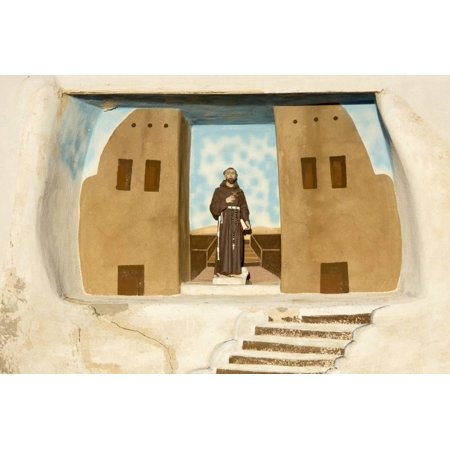 New Mexico. Painting in the Mission San Jose De La Laguna Print Wall Art By Luc Novovitch](Halloween Parties In San Jose)