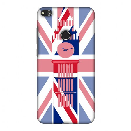 Huawei P8 Lite 2017 Case, Premium Handcrafted Printed Designer Hard Snap on Shell Case Back Cover for Huawei P8 Lite 2017 - Big Ben- UK (Designer Online Uk)