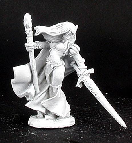 Reaper Miniatures Stern Kestrelmann Paladin #02758 Dark Heaven Unpainted Metal