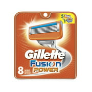 Gillette Fusion Power Refill Blade Cartridges, 8 Count + Makeup Blender