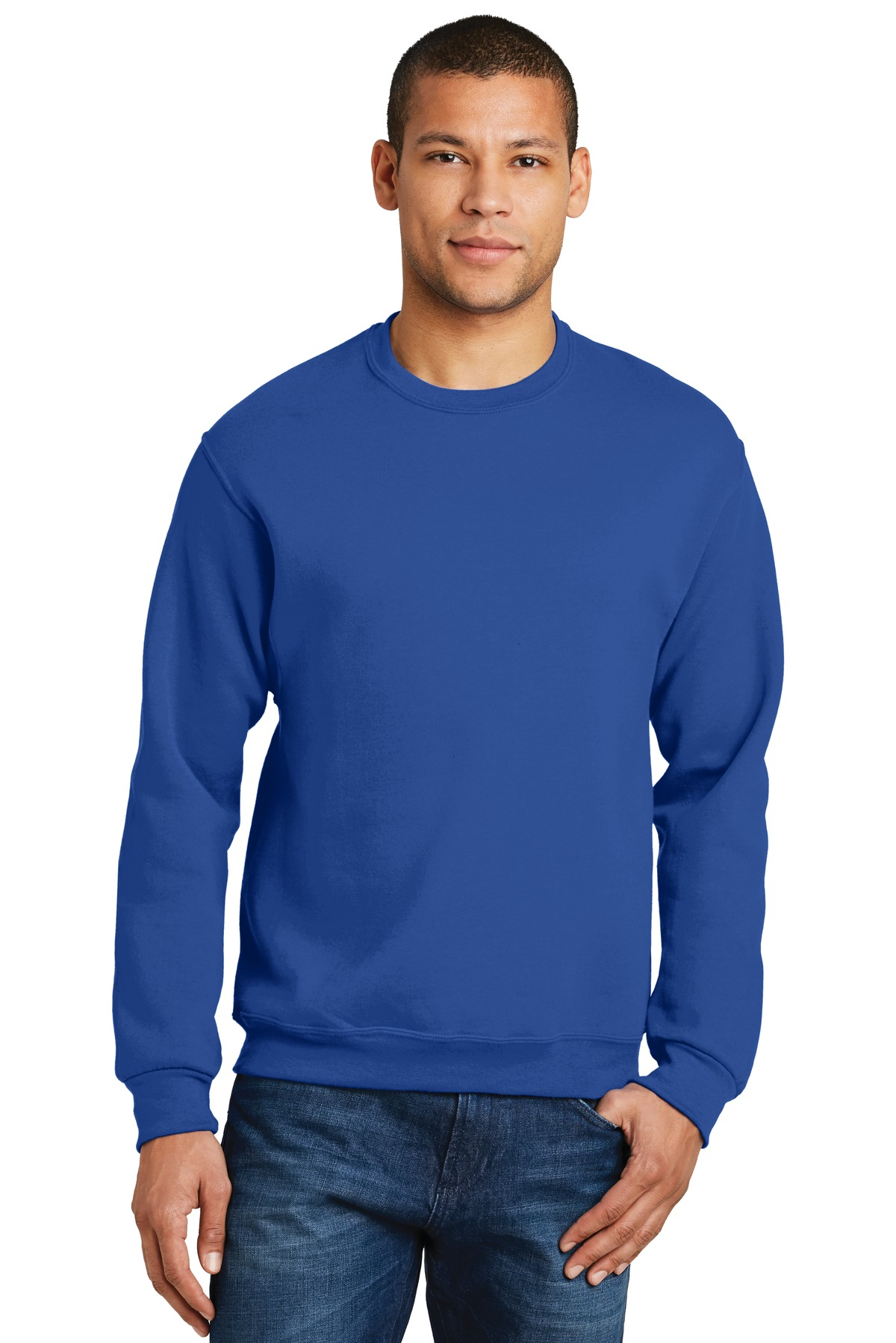 Jerzees Men's Nublend Ribbed Waistband Sweatshirt
