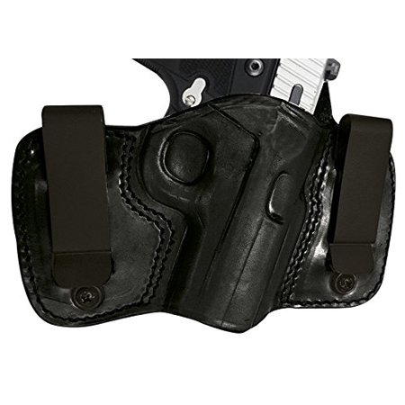 Tagua DCH-165 Dual Clip Holster, Taurus TCP Series with CT Laser, Black, Right (Taurus 738 Tcp 8 Round Magazine For Sale)