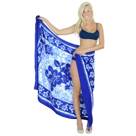 HAPPY BAY Swimsuit Cover-Up Sarong Beach Wrap Skirt Hawaiian Sarongs For Women Plus Size Large Maxi