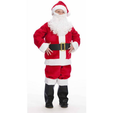 Santa Suit Boys' Halloween Costume - Boys Santa Suit