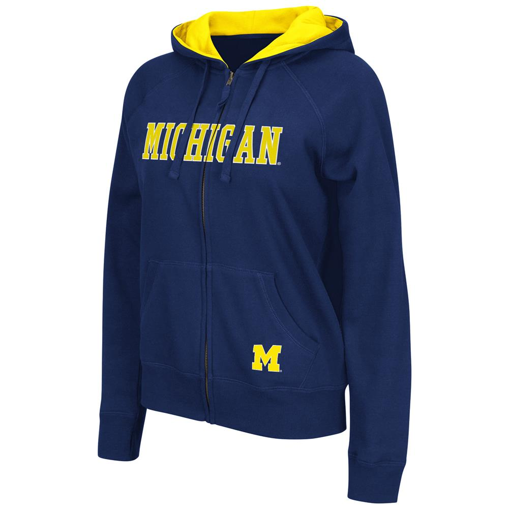 Omega II Women's Full Zip University of Michigan Wolverines Hoodie
