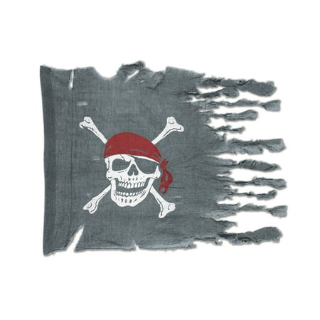 Weathered Pirate Flag (Pack of 12) - image 1 of 1