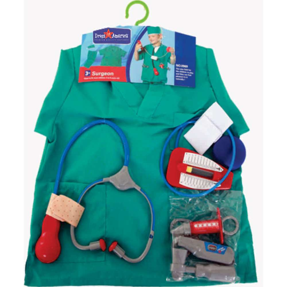 Surgeon Role Play Kids Costume