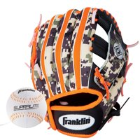 """Franklin Sports 9.5"""" RTP Series T-Ball Gloves, Multiple Sizes/Colors"""