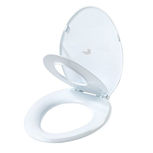 Summer Infant 2-in-1 Toilet Trainer Oval by Summer Infant