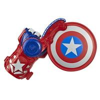 Nerf Power Moves Avengers Captain America Shield Sling Kids Roleplay