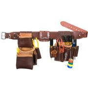 5036XL Leather Pro Electrician Tool Belt Bag Set - Size XL