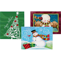 GIFT BOXES NESTED LARGE 6 ASST