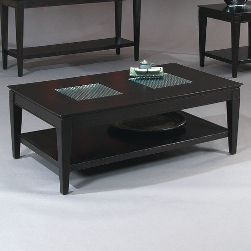 Bassett Mirror Mocchiato Rectangle Cocktail Table
