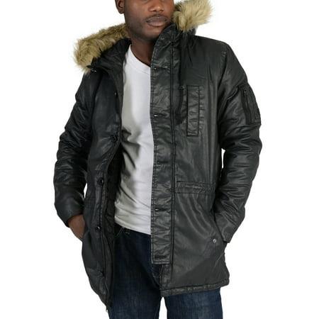 Neo Textile Jacket (Adidas Mens NEO Padded Parka Coat Black )