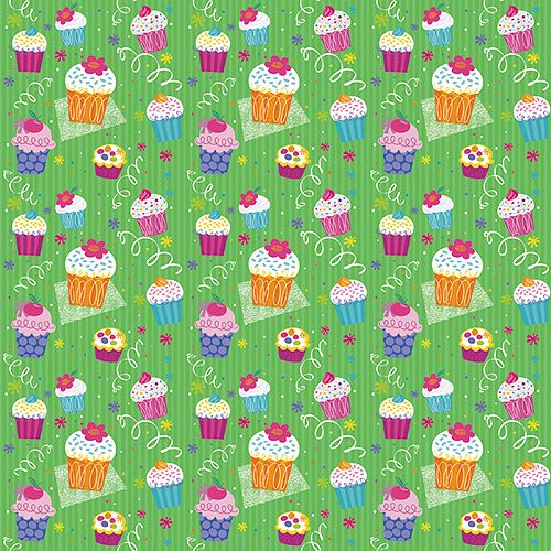 "Printed Gift Wrap 5'X30"" Roll"