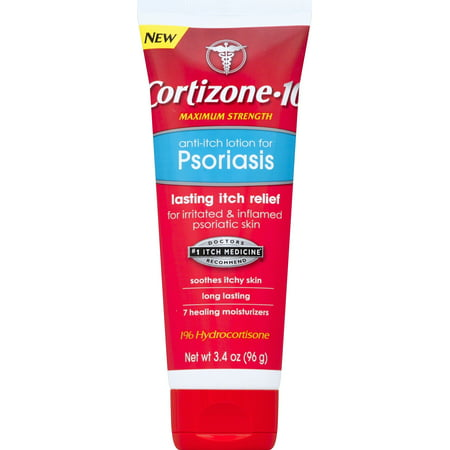 Cortizone 10 Anti-itch Lotion for Psoriasis 3.4oz