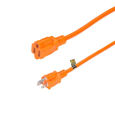 25 Ft 16 3 Sjtw Light Duty Outdoor Extension Cord 3 Prong