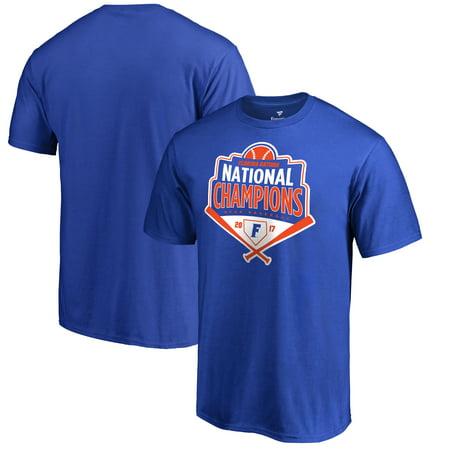 Grand Slam World Series (Florida Gators Fanatics Branded 2017 NCAA Men's Baseball College World Series National Champions Grand Slam T-Shirt - Royal )