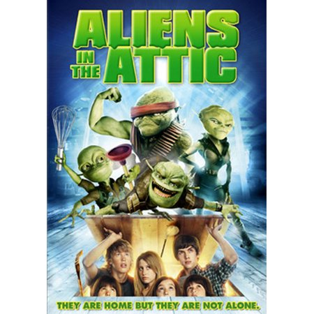 Aliens in the Attic (DVD) (Ashley Tisdale Halloween)