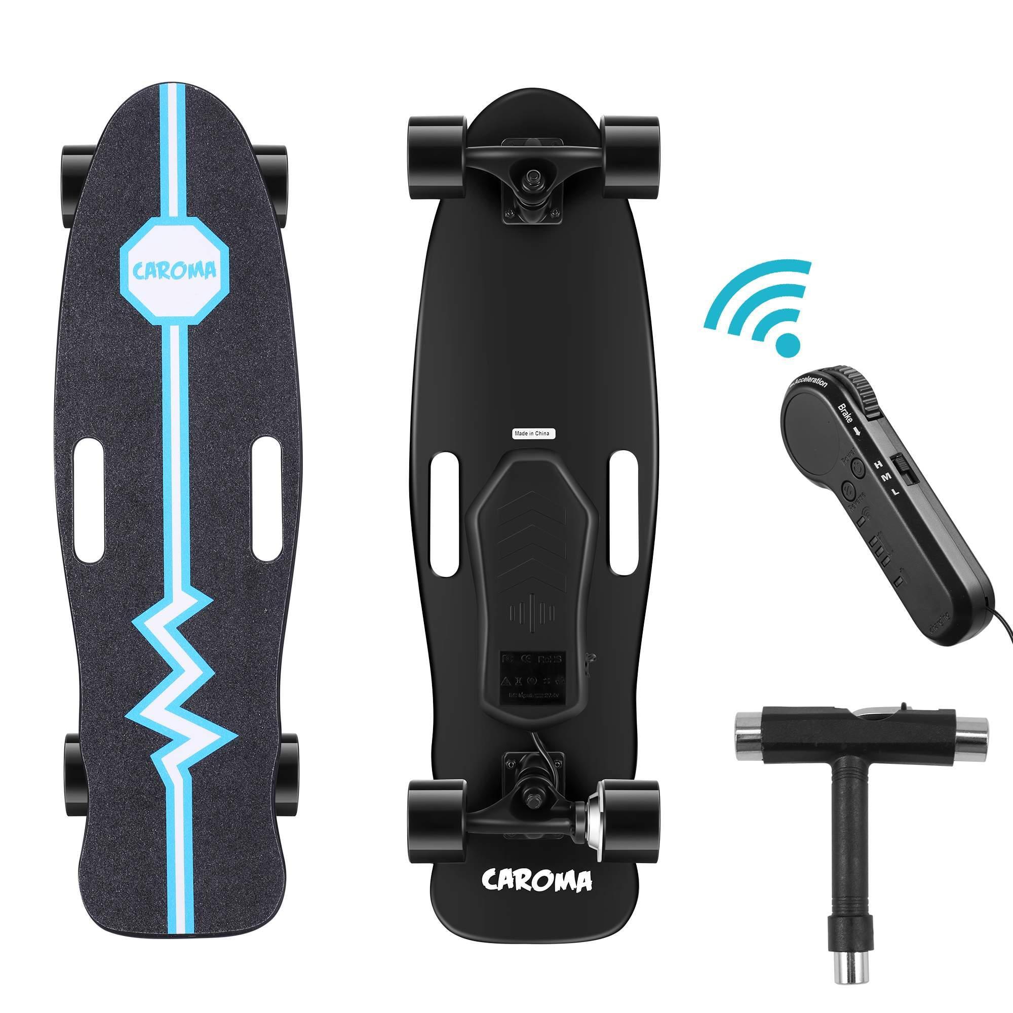 Voyager Electric Skateboard BOARD3010PPBLK