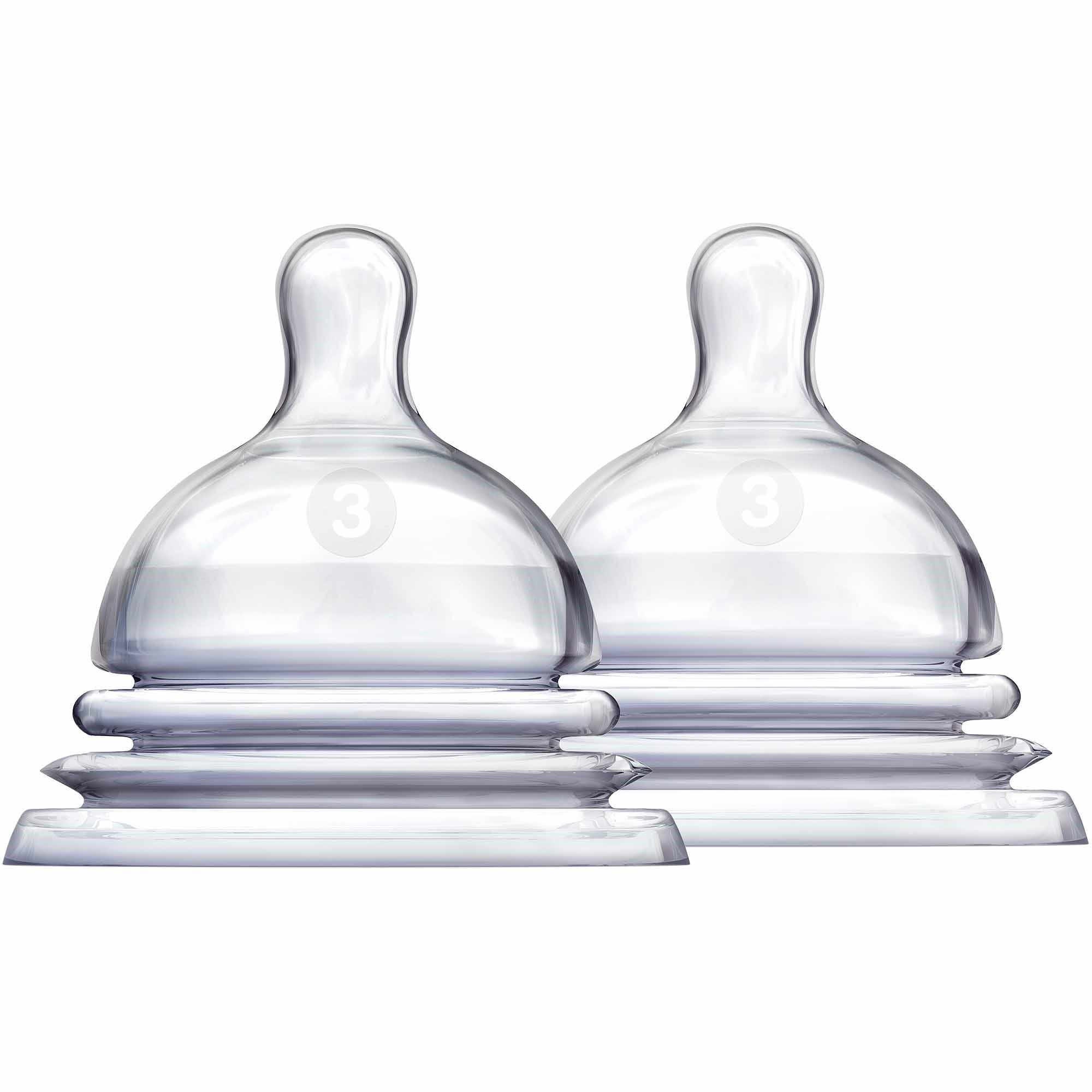Munchkin LATCH Stage 3 Nipple, BPA-Free, 6+ Months - 2pk