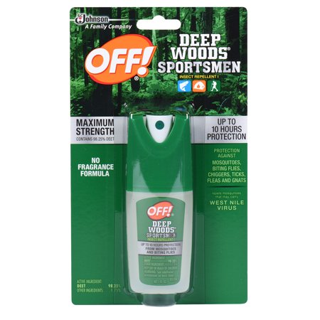 Off  Deep Woods Sportsmen Insect Repellent I 1 Fluid Ounces