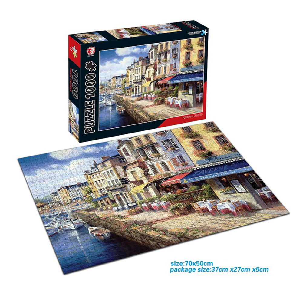 City Port Jigsaw Puzzle (1000 Pieces) by GlowSol