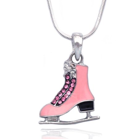 Coco Ice - cocojewelry Ice Figure Skating Shoes Skate Pendant Necklace Jewelry