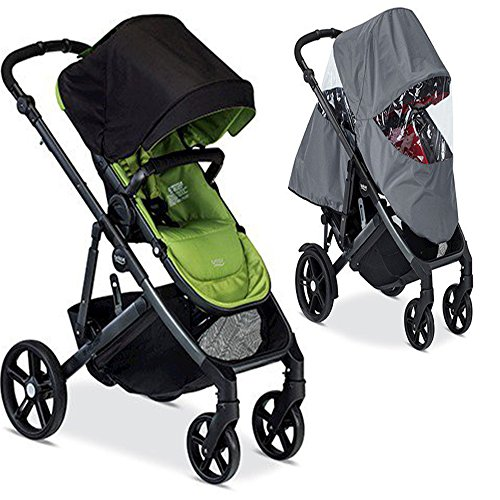 Britax B-Ready Peridot 2017 Stroller With Raincover