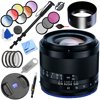 Zeiss Loxia 35mm f/2 Biogon T Full Frame Lens for Sony E Mount with 52mm Filters Plus Accessories Bundle E77ZSLOXIA2F35 Box Includes: Zeiss Loxia 35mm f/2 Biogon T Lens for Sony E MountLens Hood for Loxia 35mm f/2 Biogon T LensRear Lens Cap for Loxia E-Mount Lenses52mm Front Lens Cap for Touit and Loxia LensesDe-Click Key for Loxia LensesLimited 2-Year WarrantyBundle Includes: Zeiss Loxia 35mm f/2 Biogon T Lens for Sony E Mount52mm Graduated Color Multicoated 6pcs Filter Set52mm 4pc HD Macro Close-UP Lens Filter Set +1 +2 +4 +1052mm UV, Polarizer & FLD Deluxe Filter Kit (Set of 3 + Carrying Case)67 Pro MonopodProfessional Dust Remover for LensLCD/Lens Cleaning PenProfessional Wrist Grip StrapProfessional Cleaning KitMicrofiber Cleaning Cloth