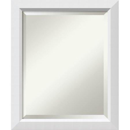 Amanti Art Bathroom Wall Mirror - Blanco White ()