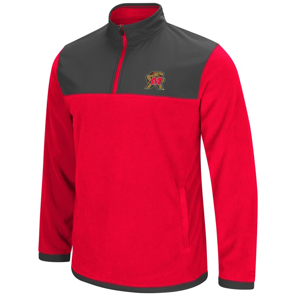 University of Maryland Terps Men's Full Zip Fleece Jacket by Colosseum