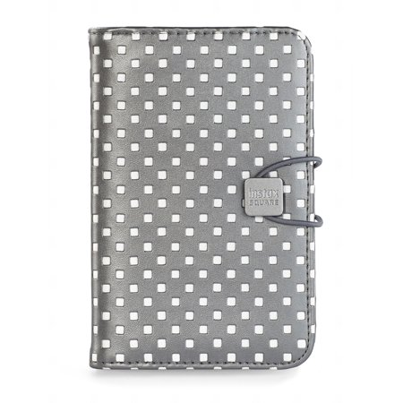 Large Square Album - Fujifilm Instax Square Photo Album (Graphite Gray with White Squares)