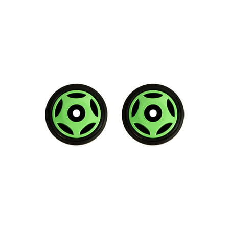 PDD Mid Rail Neon Green Idler Wheels Kit for Snowmobile ARCTIC CAT ZR 500, 600, EFI 1999-2001