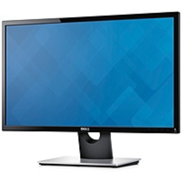 "Refurbished Dell SE2416H 23.8"" LED LCD Monitor - 16:9 - 6 ms - 1920 x 1080 - 16.7 Million Colors - 250 Nit - 8,000,000:1 - Full HD - HDMI - VGA - 25 W - Black, Silver"