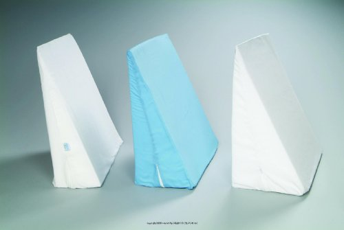 Hermell Replacement Cover for Bed Wedge Pillows, White Wedge Pillow Cvr -Sp, (1 EACH) by Hermell Products, Inc.