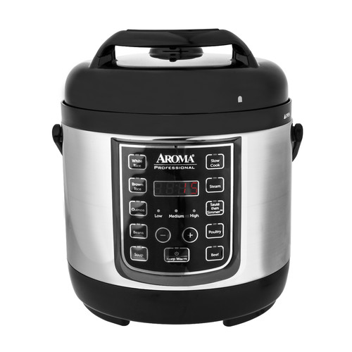 Aroma 2.5-Quart Professional Digital Pressure Cooker