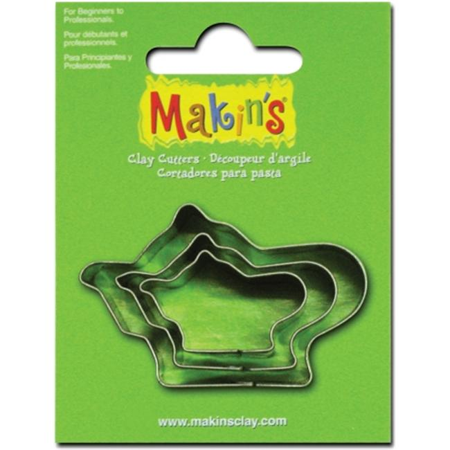 Makins USA 159303 Makins Clay Cutters 3-Pkg-Teapot