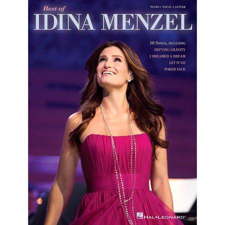 Hal Leonard Best Of Idina Menzel Piano Vocal Guitar Songbook