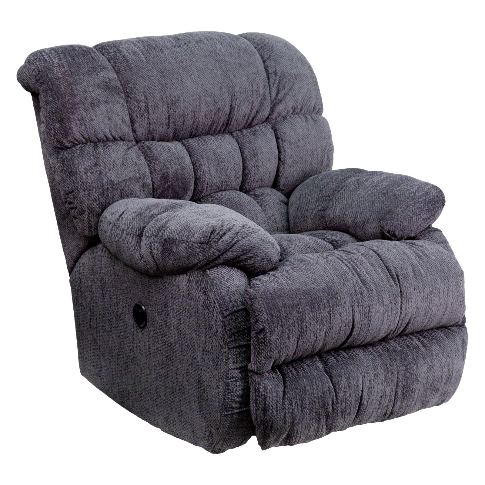 Flash Furniture Contemporary Columbia Microfiber Power Recliner with Push Button, Multiple Colors