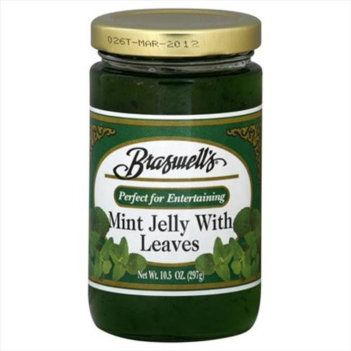 Braswells Jelly, Mint with Leaves