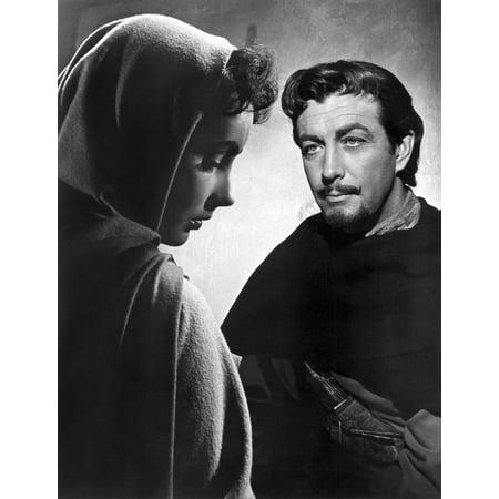 Ivanhoe Robert Taylor (Ivanhoe Elizabeth Taylor Robert Taylor 1952 Photo)
