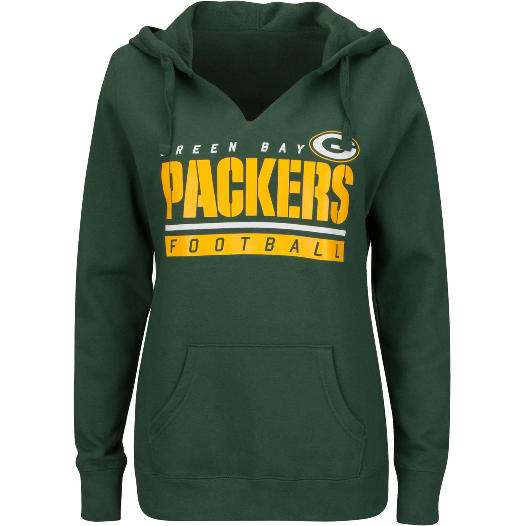 NFL Green Bay Packers Ladies Fleece Hoodie