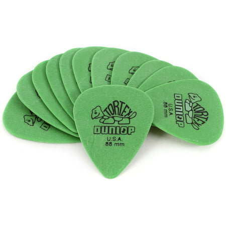 Dunlop Tortex Standard Guitar Picks - 12-Pack - .88mm - Green