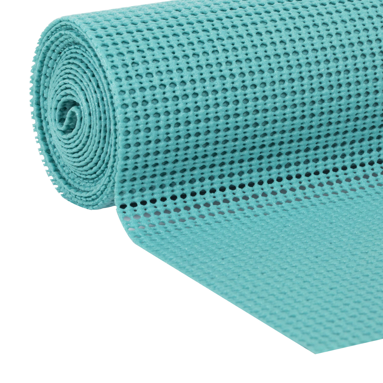Duck Brand Select Grip 12 in. x 10 ft. shelf Liner, Teal Splash