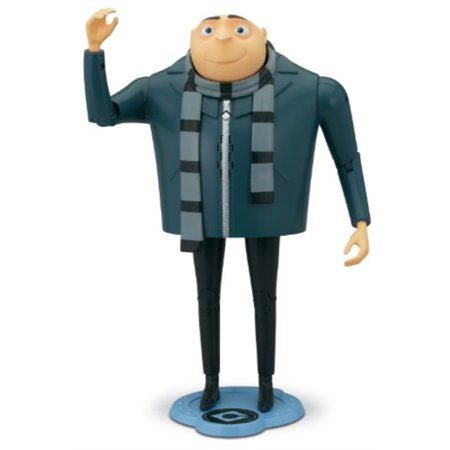 Despicable Me 2 Gru The Talking Genius Action Figure (Despicable Me Felonious Gru)