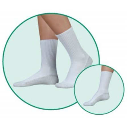 Juzo Silver Sole Support Socks - 5760AC10 L 5760 OTC Silver Sole Unisex Crew Length Socks 12-16mmHg - Size- Large, Color- Black 10, More for the money with this high quality.., By Juzo From USA