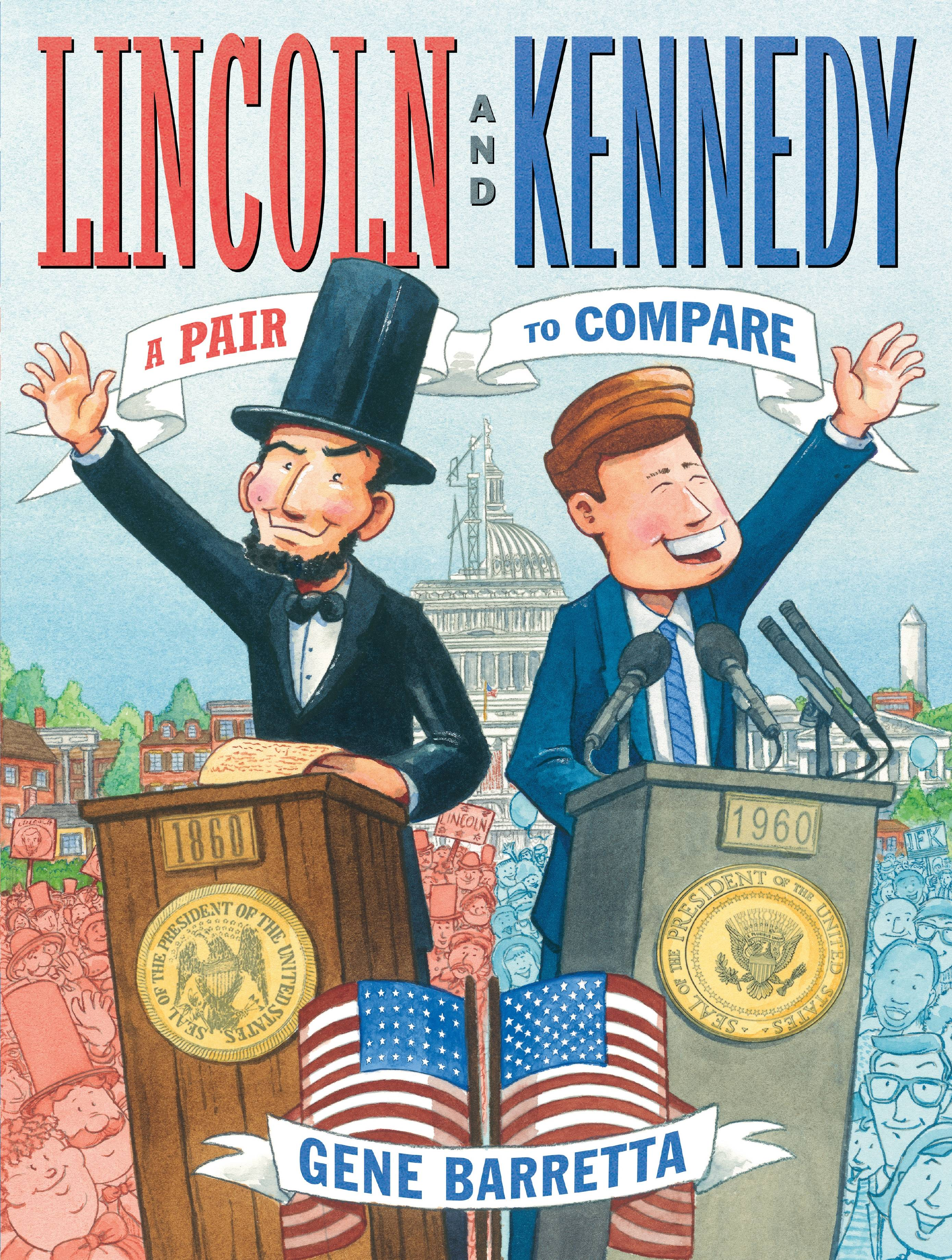Lincoln and Kennedy : A Pair to Compare - Walmart.com